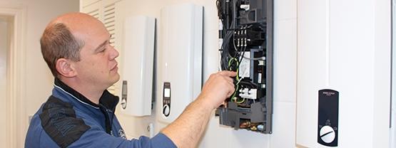 Montage van de elektrische boiler door boilermarkt.nl