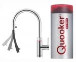 Quooker Flex round chroom met Combi+ reservoir