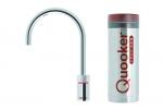 Quooker Nordic single tap round chroom met Pro3 reservoir